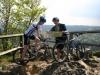 Mountainbiker an Hahnenkleeklippen