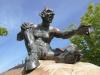 Bronzeteufel auf dem Hexentanzplatz Thale