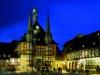 Rathaus Wernigerode in der Abendstimmung