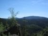 Blick von der Rabenklippe zum Brocken