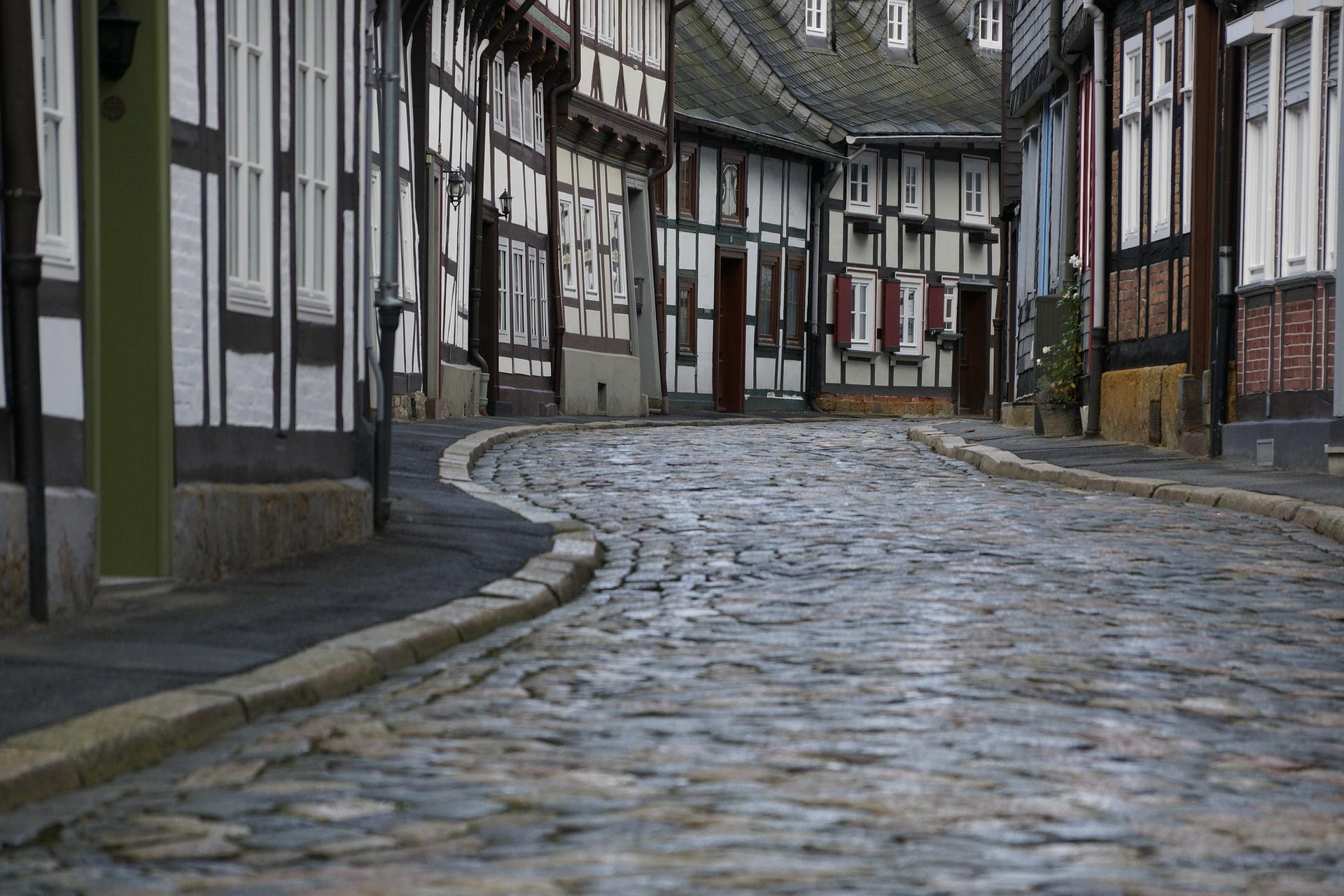 Kopfsteinpflaster in Goslar